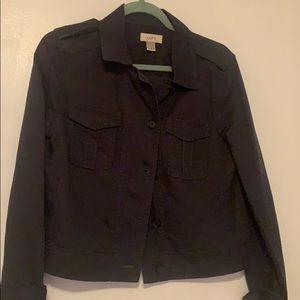LOFT light button up jacket